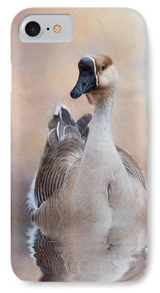 IPhone Case featuring the photograph African Goose by Robin-Lee Vieira