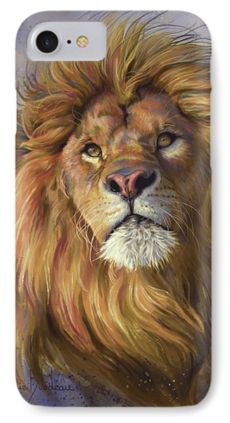 Lion iPhone 7 Case - African Lion by Lucie Bilodeau