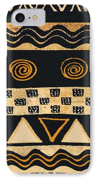 African Memories IPhone Case by Vagabond Folk Art - Virginia Vivier