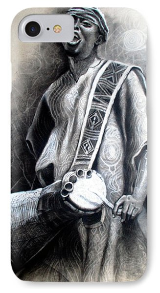 African Rythm IPhone Case by Bankole Abe