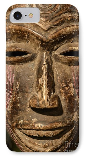 African Tribal Mask. Phone Case by John Greim