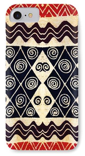African Tribal Textile Design IPhone Case by Vagabond Folk Art - Virginia Vivier