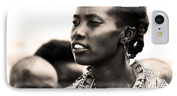 African Woman IPhone Case