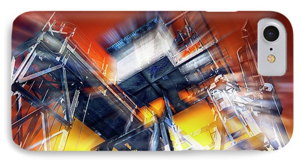 IPhone Case featuring the photograph After Effect by Wayne Sherriff
