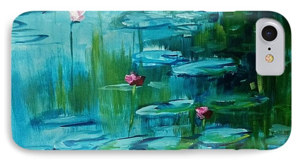 After Monet IPhone Case by Kathy  Karas