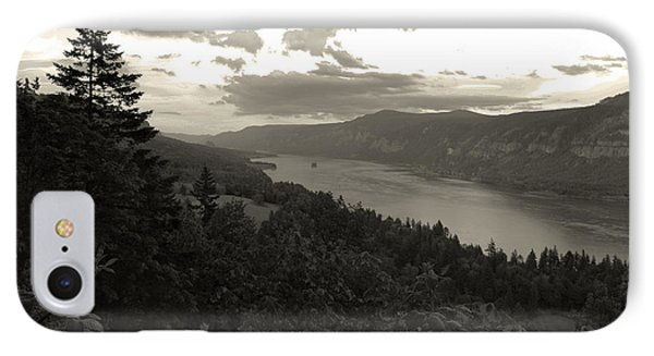 After Sunset On The Columbia IPhone Case