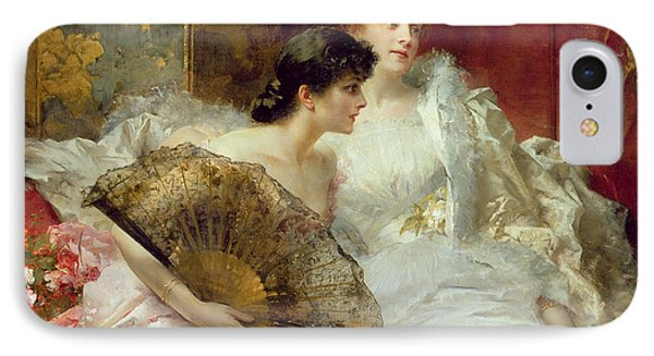 After The Ball Phone Case by Conrad Kiesel