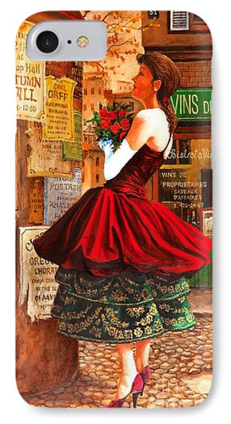 IPhone Case featuring the painting After The Ball by Igor Postash