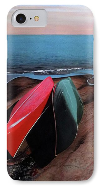 IPhone Case featuring the painting After The Crossing by Kenneth M Kirsch