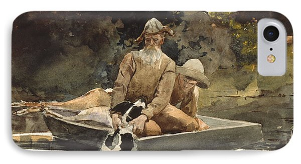 After The Hunt IPhone Case by Winslow Homer