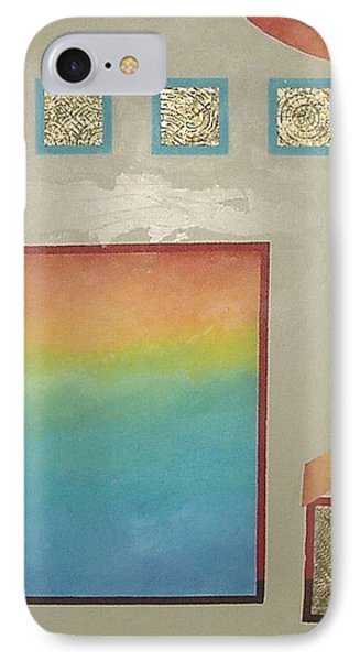 IPhone Case featuring the painting After The Rain by Bernard Goodman