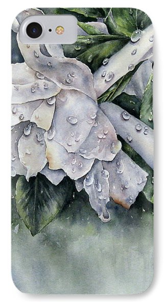 After The Rain-gardenia IPhone Case