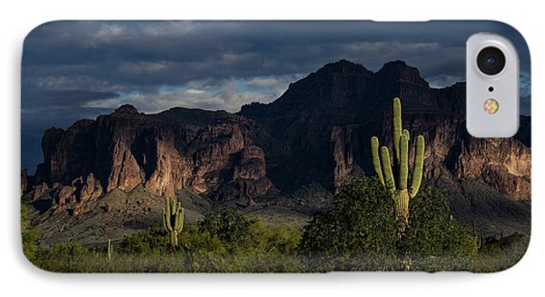 After The Rain In The Superstitions  IPhone Case by Saija Lehtonen