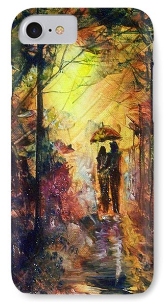 After The Rain IPhone Case by Raymond Doward