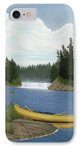 After The Rapids Phone Case by Kenneth M  Kirsch