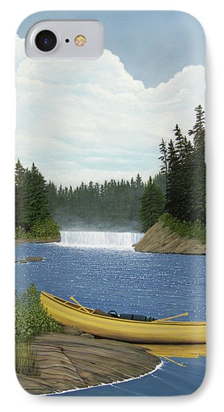 After The Rapids IPhone Case by Kenneth M  Kirsch