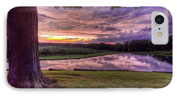 After The Storm At Mapleside Farms IPhone Case by Brent Durken