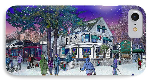 After The Storm At Woodstock Inn IPhone Case by Nancy Griswold