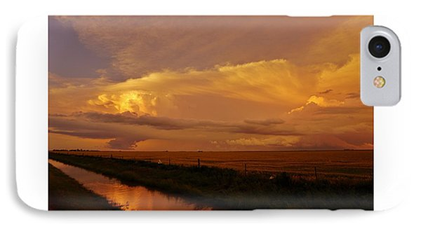 IPhone Case featuring the photograph After The Storm by Ed Sweeney