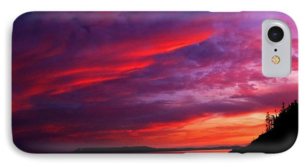 IPhone Case featuring the photograph After The Storm Sunset by Alana Ranney