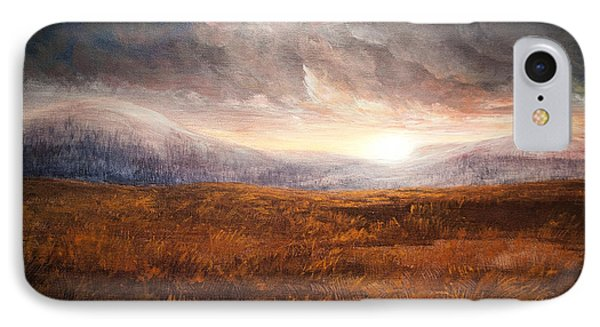 After The Storm - Warm Tones IPhone Case by Jessica Tookey