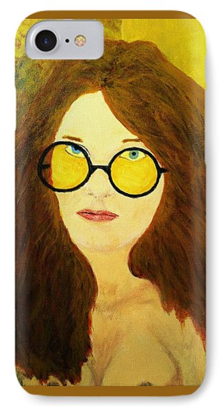 Afterlife Concerto Janis Joplin IPhone Case by Rand Swift