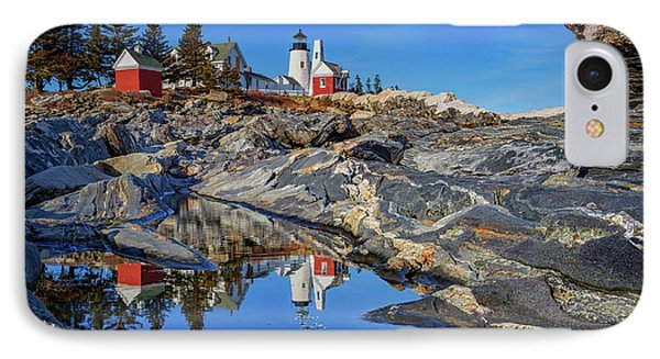Afternoon At Pemaquid Point IPhone Case by Rick Berk