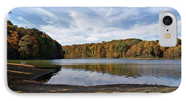 Afternoon At The Lake Phone Case by Sandy Keeton