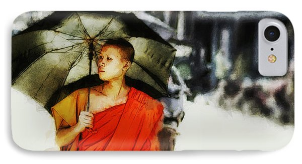 Afternoon In Luang Prabang IPhone Case by Cameron Wood