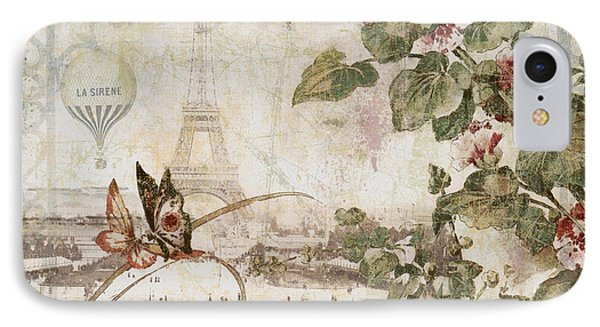 Afternoon In Paris IPhone Case by Mindy Sommers