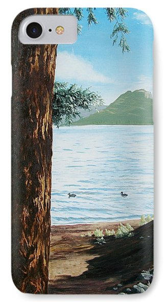 IPhone Case featuring the painting Afternoon Invitation by Bonnie Heather