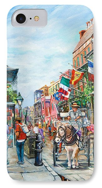 Afternoon On St. Ann Phone Case by Dianne Parks