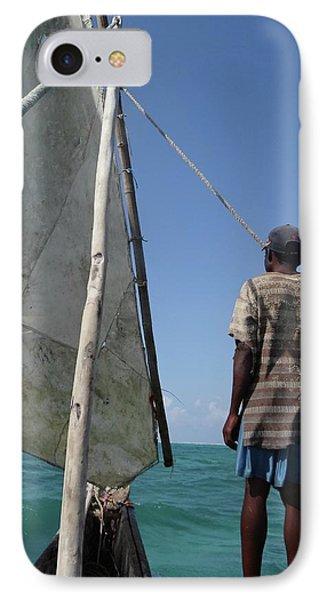 Afternoon Sailing In Africa IPhone Case by Exploramum Exploramum