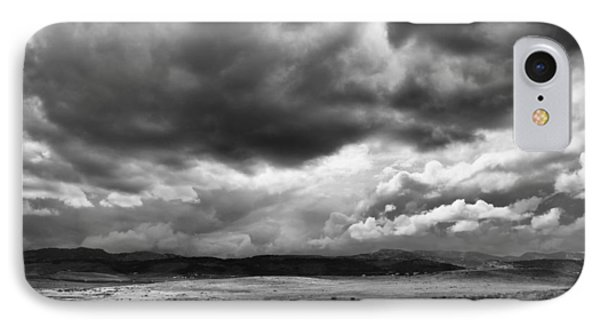 Afternoon Storm Couds IPhone Case by Monte Stevens