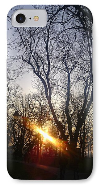 Afternoon Sunlight In Belgrade Kelemegdan Park Phone Case by Anamarija Marinovic