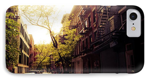 Afternoon Sunlight On A New York City Street Phone Case by Vivienne Gucwa