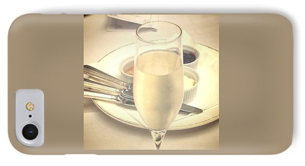 Afternoon Tea With Champagne IPhone Case