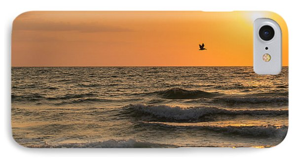 Against The Wind IPhone Case by Christopher L Thomley
