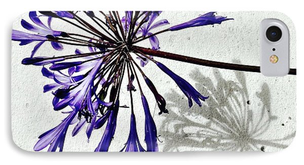 Agapanthus Phone Case by Julie Gebhardt