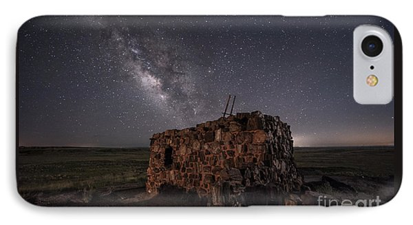 IPhone Case featuring the photograph Agate House At Night by Melany Sarafis