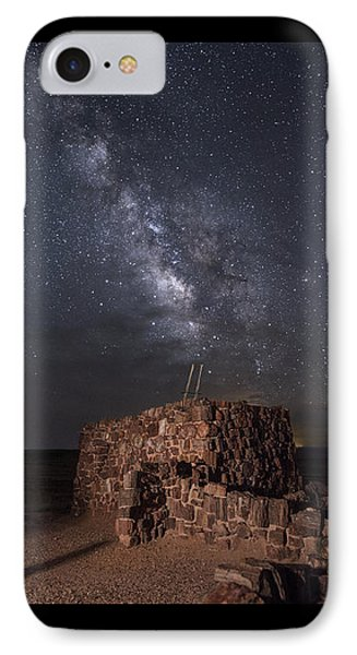 IPhone Case featuring the photograph Agate House At Night2 by Melany Sarafis
