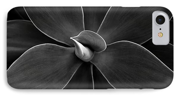 Agave Leaves Detail IPhone Case by Marilyn Hunt