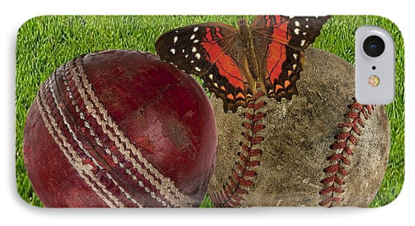 Age Basketball And Cricket Ball IPhone Case