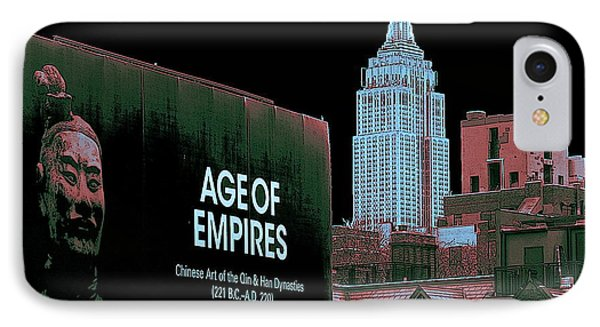 Age Of Empires - New York IPhone Case by Art America Gallery Peter Potter