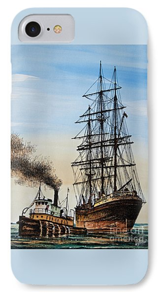 Age Of Steam And Sail IPhone Case by James Williamson