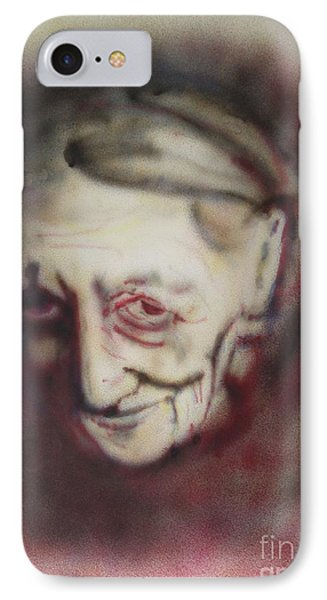 Aged Smile IPhone Case by Ron Bissett