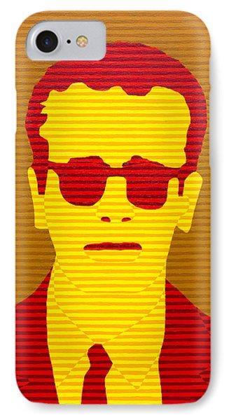Agent Orange IPhone Case by Oliver Johnston