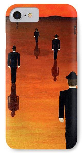 Agents Orange IPhone Case