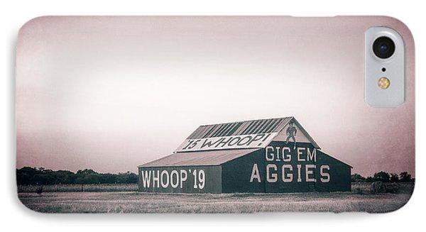Aggie Barn Sunrise 2015 Platinum Textured IPhone Case