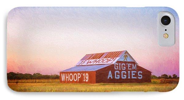Aggie Barn Sunrise Painterly IPhone Case